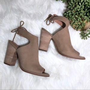 Lucky Brand Block Heel Booties